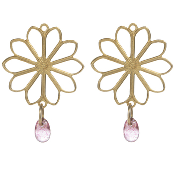Flower Drop Charms