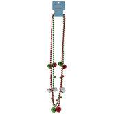 Jingle Bells Beaded Necklaces