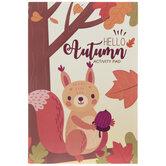 Hello Autumn Activity Pad