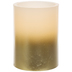 Gold Ombre LED Pillar Candle - 3