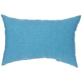 Cerulean Blue Heather Pillow