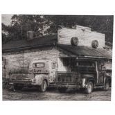 Vintage Trucks Canvas Wall Decor