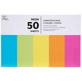 """Neon Cardstock Paper Pack - 8 1/2"""" x 11"""""""