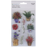 House Plants Clear Stamps