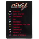 Galaga Metal Sign