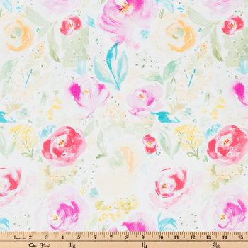 Bright Petal Jardin Apparel Fabric