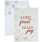 Psalm 126:3 Christmas Cards