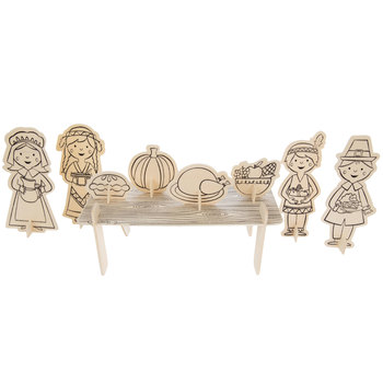 Thanksgiving Dinner Wood Craft Kit