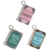 Jane Austen Book Charms