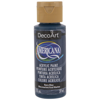 Navy Blue Americana Acrylic Paint