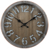 Galvanized & Bolted Metal Wall Clock