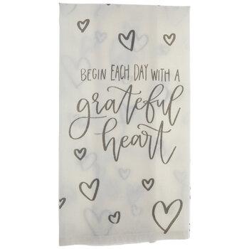 Grateful Heart Kitchen Towel