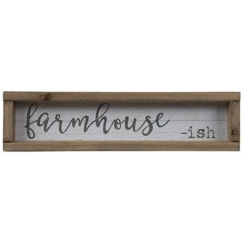 Farmhouse-Ish Wood Wall Decor