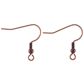 Fish Hook Ear Wires - 21mm