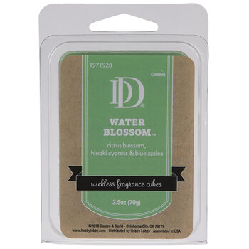 Water Blossom Fragrance Cubes