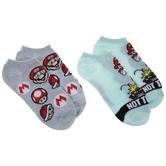 Mario Low Cut Socks