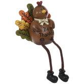 Be Thankful Turkey Shelf Sitter