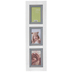 White Rustic Collage Wood Wall Frame