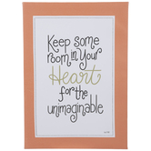 Room In Your Heart Canvas Wall Decor