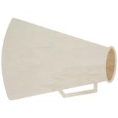 Megaphone Wood Shape