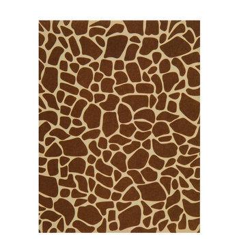Giraffe Print Felt Sheet