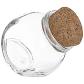 Corked Glass Spice Jar