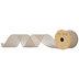 Light Gold Glitter Mesh Wired Edge Ribbon - 2 1/2