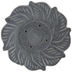 Gray Soapstone Flower Incense Holder