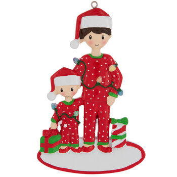 Dad & Child Personalized Ornament