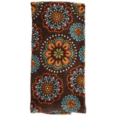 Floral Medallion Kitchen Towel