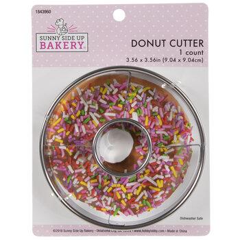 Donut Metal Cookie Cutter