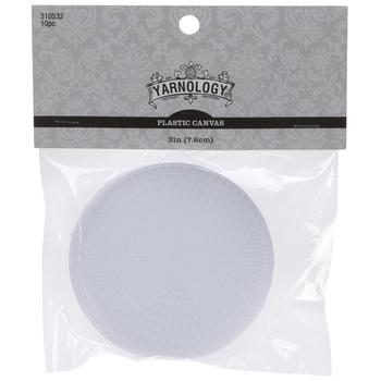 Round Plastic Canvas Shapes