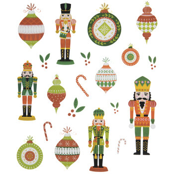 Christmas Nutcrackers Stickers