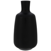 Black Tapered Vase - Small