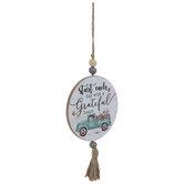 Grateful Heart Truck Tassel Ornament