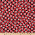 Red Plaid & Snowflakes Cotton Fabric