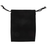 "Black Velvet Jewelry Pouches - 3"" x 4 1/4"""