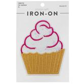 Cupcake Sequin Iron-On Applique