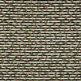Black & Cream Striped Holly Cotton Fabric