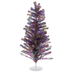Rainbow Tinsel Christmas Tree - 2'