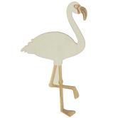 Flamingo Wood Shape