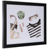 Watercolor Accessories Framed Wall Decor