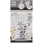 Colorful Leopard Happy Planner Stickers