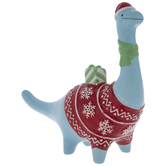 Christmas Brontosaurus