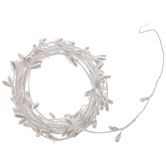 White & Ivory Mini Pearl Seed Garland