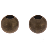 Round Metal Beads - 6mm