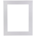 White Stepped Wood Open Frame - 11