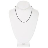 """Fine Cable Chain Necklace - 16"""""""