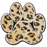 Panther Paw Print Paper Cutouts