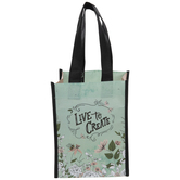 Live To Create Tote Bag
